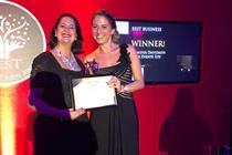 Event agency wins Best Business award