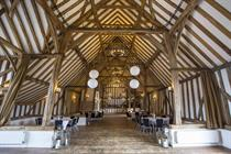 Rustic Essex barn converted for meetings and events