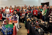 Christmas market-themed charity event organised by AIEA brings festive cheer