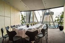 New event spaces open at The Gherkin