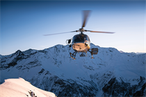 What are the pros and cons of helicopter travel?