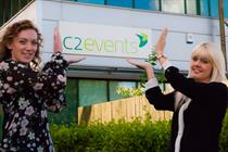 Two new starters at C2events