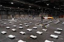 Global venues being transformed into field hospitals