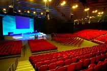 Convention centre close up: Telford International