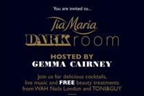 Frukt to develop experiential Dark Room for Tia Maria