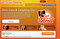 Oxfam recruits celebrities for climate-change game