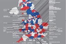 Great British Festivals map revealed