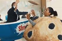 Shreddies and Cheerios fight croissants in breakfast ads