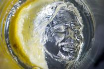 Branson-shaped ice cubes take off on selected Virgin flights