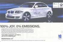 BMW 'zero emissions' ad banned