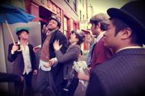 Picture gallery: Bugsy Malone flashmob