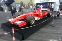 In pictures: F1 Fanzone drives into Olympic Park