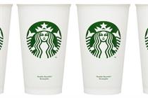 Starbucks to reward customers for drinking from reusable cup