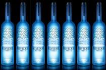 Belvedere illuminates its bottles