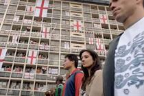 Vauxhall 'supports nation' with England football TV ad