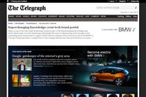 Telegraph partners with Wired for BMW content deal