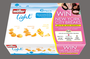 Mullerlight launches on-pack prize draw