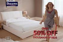 Dreams calls £32 million advertising pitch