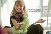 Dove launches campaign to support self-esteem programme