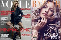 Fashion titles see boost in ad pages