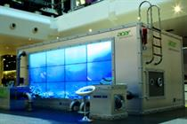Acer gets shoppers talking to dolphins