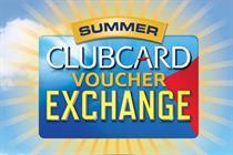 Tesco escalates voucher war with Clubcard exchange campaign