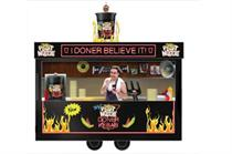 Pot Noodle supports new flavour with mobile kebab shop