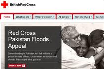 British Red Cross revamps website