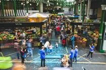 Event TV: Borough Market marks millennium with mass footprint event