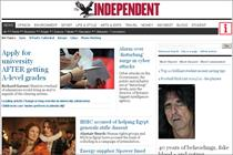 The Independent launches new website with international paywall and £19 iPad app