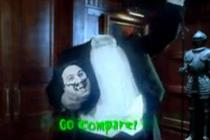 GoCompare beheads Gio Compario for Halloween
