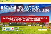 Morrisons cancels inaugural music festival MFest
