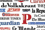 Newspapers worldwide clear front pages for Copenhagen editorial