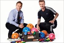 David Beckham adopts Sainsbury's ambassador role
