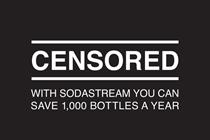SodaStream capitalises on ad ban in new 'censored' campaign