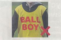 Specsavers runs tongue-in-cheek ad on Hazard ballboy incident