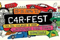 Chris Evans launches CarFest