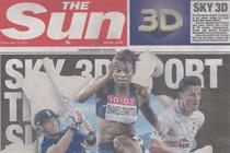 The Sun publishes its first cover wrap
