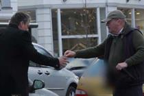 Confused.com films public helping 'drunk' driver