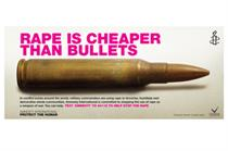 Amnesty International debuts Tube campaign highlighting rape