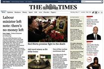 Times exec says paywall not aimed at 'young people'