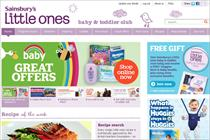 Sainsbury's targets mothers with Little Ones revamp