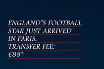 Eurostar capitalises on Beckham publicity with ad