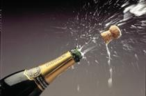Champagne sales lose their fizz