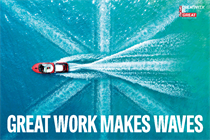 Great work makes waves - and Britain makes great work
