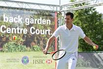 HSBC unveils Wimbledon experiential activations
