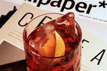 Campari exhibits art inspired by the Negroni