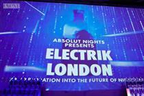 Event TV: The idea behind Absolut's Electrik London event