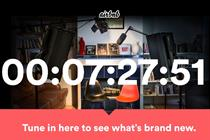 Airbnb counts down to event unveiling evolution of brand