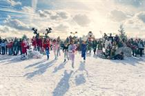Asda launches first major work from AMV BBDO with snow-filled Christmas spot